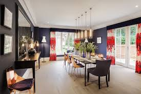 navy blue dining rooms. Navy Blue Dining Room Contemporary With Rooms