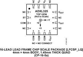adxl datasheet and product info devices pdf
