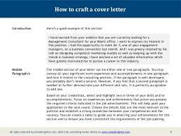 employment cover letter formatparalegal cover letter