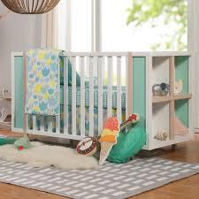 Babyletto Bingo 3-in-1 Convertible Crib and Storage Combo in White ...
