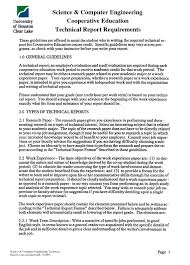 Engineering Technical Report Template 8 Technical Report Writing Examples Pdf Examples