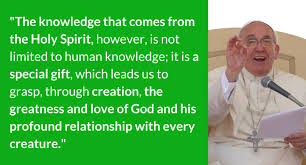 Catholic Quote Of The Day Amazing Pope's Eco Quotes The Gift Of Knowledge National Catholic Reporter