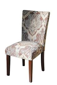 paisley fabric dining room chairs add style to your dining room furniture a straight back