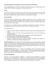 Music Manager Job Description General Manager Job Description By Orlando Jopling Issuu