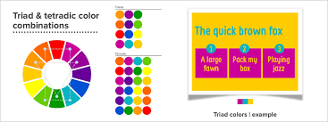 Color Wheel Chart Combinations Color Theory For Presentations How To Choose The Perfect