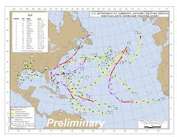 Atlantic Hurricane Season Tracking Chart Track The Tropics