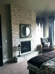 white stacked stone fireplace surround mantle fireplaces with reclaimed wood mantel