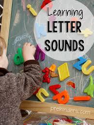 learning letter sounds prekinders