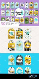 Summer Gift Tags Summer Gift Tag 1659589 Uxfree Com