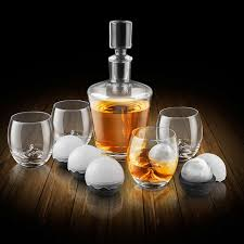 the rock glass whiskey decanter set wine enthusiast inspiration of whiskey gift ideas
