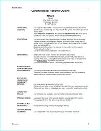 Good Resume Outline Outline Of A Good Resume Resume Resume Examples Rpwng96qnj