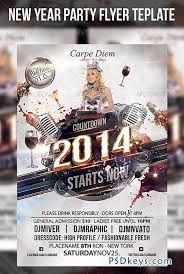New Year Party Flyer Template 6254523 » Free Download Photoshop ...