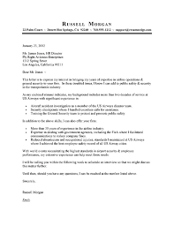 Examples Of Cover Letter For Resume Template