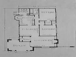 Spanish Bungalow House Plans Spanish Mission Bungalow House Floor