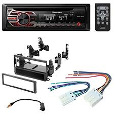 amazon com pioneer aftermarket car radio stereo cd player dash pioneer to nissan wiring harness pioneer aftermarket car radio stereo cd player dash install mounting kit stereo wire harness for