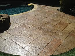 Stamped Concrete Pool Deck Frisco, TX