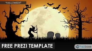 Halloween Prezi Template Prezibase