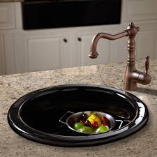 Granite Kitchen Accessories Risinger Fireclay Drop In Undermount Prep Sink Kitchen