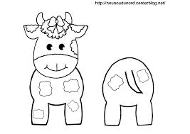 Coloriage Vache Les Beaux Dessins De Animaux Imprimer Et