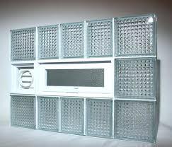 install glass block basement window image of glass block basement window with dryer vent cost to
