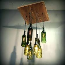 hanging bottle lamp wine pendant lights medium size of light fixture kit how to make liquor
