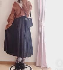 冬服スカートのレディース流行りコーデ2019年のトレンドは Cuty
