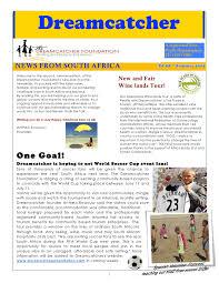 Dream Catcher Foundation Dreamcatcher Newsletter Summer100 84