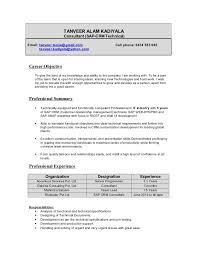 Collection of Solutions Sap Crm Resume Samples On Worksheet