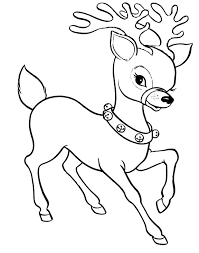 Small Picture Christmas Coloring Pages With Reindeer Coloring Pages
