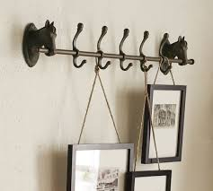 Horse Coat Rack Horse Row of Hooks Pottery Barn 92