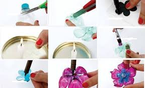 many diy ideas and projects that you can make using plastic bottles starting from flower pots diffe decorations piggy banks and also chandeliers