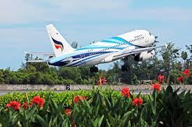 สายการบินบางกอกแอร์เวย์ส เพิ่มความถี่เที่ยวบินในเส้นทางกรุงเทพฯ  (สุวรรณภูมิ) – ตราด - Pantip