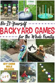 10 simple diy backyard for the whole familytake family game night to a whole new
