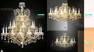 crystal chandeliers maria theresia design with swarovski crystals you