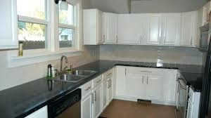 Rustic Backsplash With White Cabinets And Grey Countertop N9893007  For Marble Countertops51