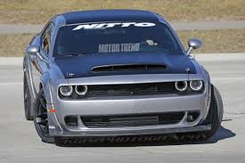 2018 chrysler challenger. perfect challenger spied is this the 2018 dodge challenger srt demon motor trend throughout  chrysler to chrysler challenger