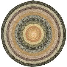 indoor outdoor round rugs awesome safavieh braided collection brd308a hand woven blue
