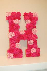 diy letter wall d on diy rustic letters with flowers