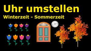 Uhren Umstellen Winterzeit Sommerzeit Zeiger Vor Oder Zurück