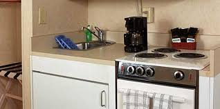 Efficiency Kitchen Bayside Double Efficiency Room Accommodations Bay Resort Motel