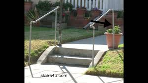 This safety feature also gives stairs a visual presence and can make a staircase a work of art. The Cheapest Exterior Stair Handrail Money Saving Ideas Youtube