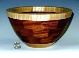 decorative wooden bowls rustic