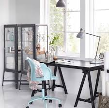home office home office ikea. Highlight Creativity With Dark Contrasts Like This Home Office TORNLIDEN Desk In Black, Ikea O