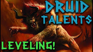 Druid Leveling Talents Classic Wow Talent Guide