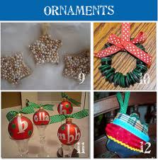 Mini Yarn Hats Ornaments  DIY Christmas Ornaments  DIY Christmas Christmas Tree Ornaments Crafts