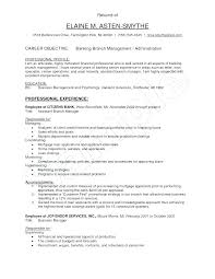 Bank Resume Template Entry Level Banking Resume Bank Resume Template
