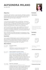 Sandwich Artist Resume Samples Visualcv Resume Samples Database
