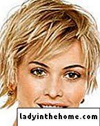 Módní účesy Pro Jemné Vlasy čtyřkolky Fazole Perm Bangy Vrstvy