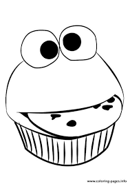 Small Picture funny cupcake Coloring pages Printable
