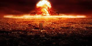 Resultado de imagen para ciudad destruida por una bomba nuclear
